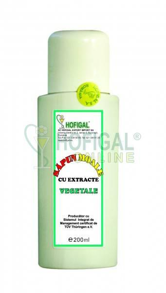 Sapun vegetal lichid fl. 200 ml